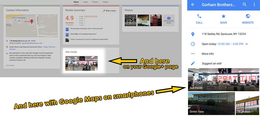 how to add google virtual tour to wordpress